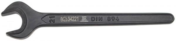 BGS 34221 Einmaulschlüssel, 21 mm