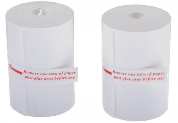 BGS 2196-ROLLE 2 Stück Ersatz Papierrollen für Drucker BGS 2196