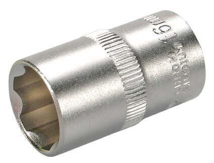 """BGS 2416 Steckschlüssel-Einsatz SW 16 mm 1/2"""" Super Lock"""