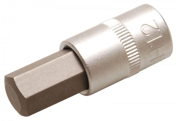 BGS 2584 Steckschlüsel-Einsatz, 10 (3/8), Innen-6-kant, 12 mm