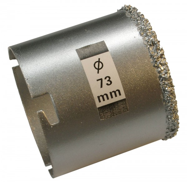 BGS 3914 Bohrkrone für Fliesenlochbohrsatz, 73 mm