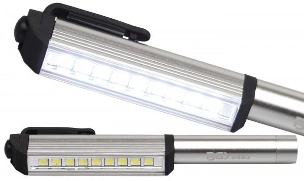 BGS 8493 Aluminium-COB-LED-Stift mit 9 LEDs