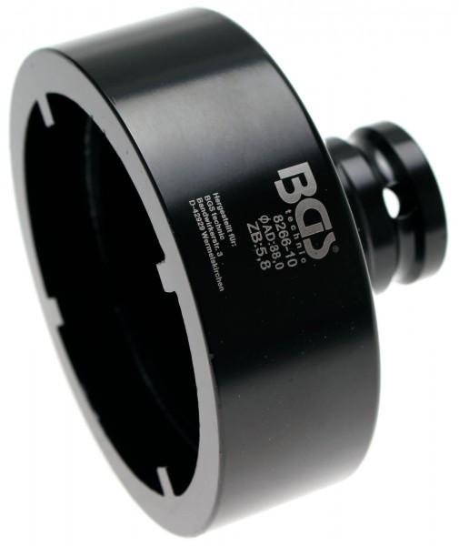 BGS 8266-10 Nutmutter-Einsatz mit Innenzahn, 88x6.0 mm
