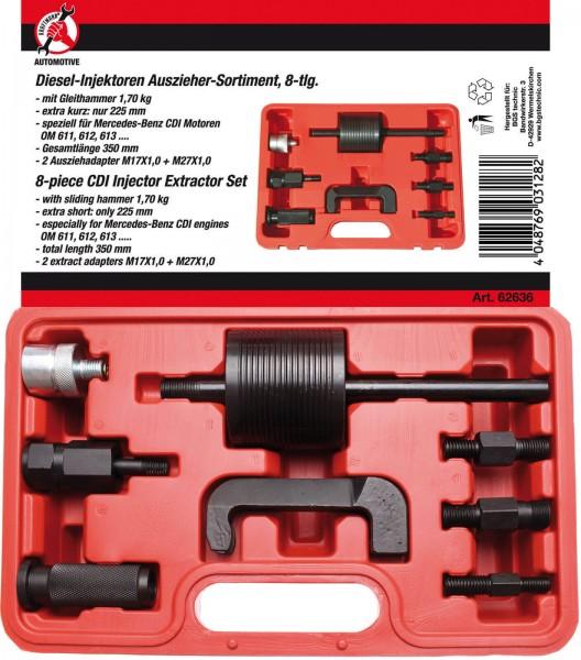 BGS 62636 Diesel-Injektoren-Auszieher-Satz, 8-tlg.