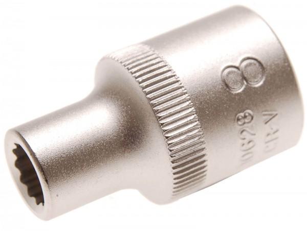 BGS 10628 Steckschlüssel-Einsatz 12-kant, 12,5 (1/2), 8 mm