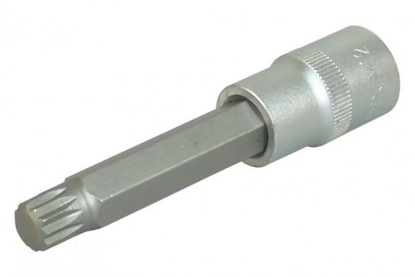 """BGS 4363 Innenvielzahn Steckschlüssel M12 x 100 mm 1/2"""""""