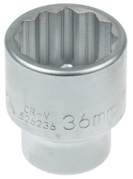 Asta 526236 Vielzahn Steckschlüssel SW 36 mm
