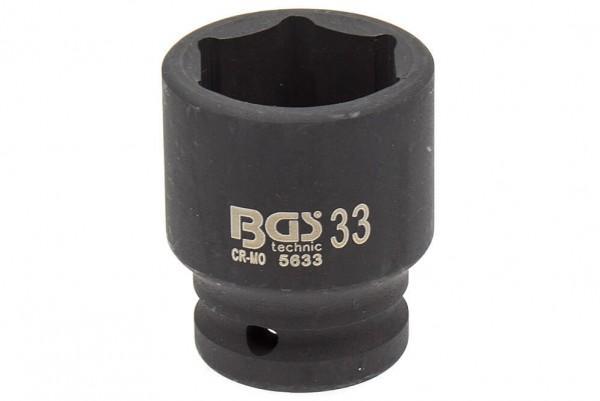 """BGS 5633 Schlagschrauber Nuss 3/4"""" SW 33 mm"""