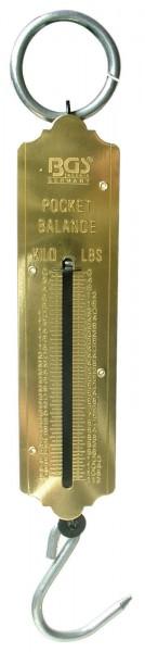 BGS 8034 Taschenfederwaage, bis 50 kg