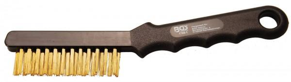 BGS 1798-1 Messing-Bremssattelbürste, 230 mm