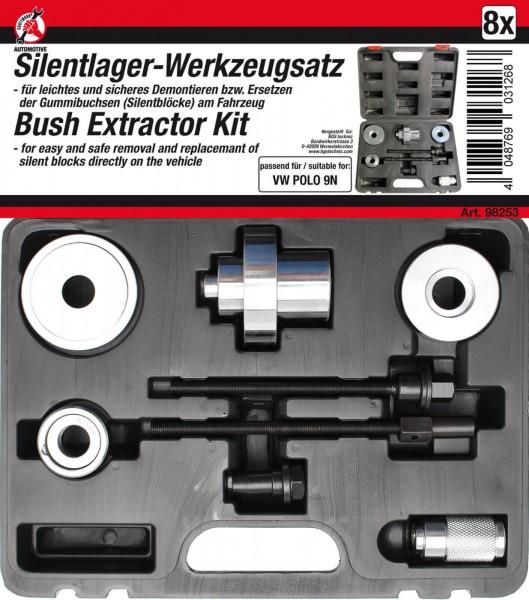 BGS 98253 Silentlager-Werkzeugsatz, VW Polo 9N