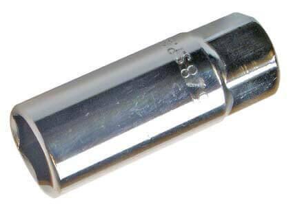 """BGS 2466 Zündkerzenschlüssel SW 16 mm Steckschlüssel 3/8"""""""