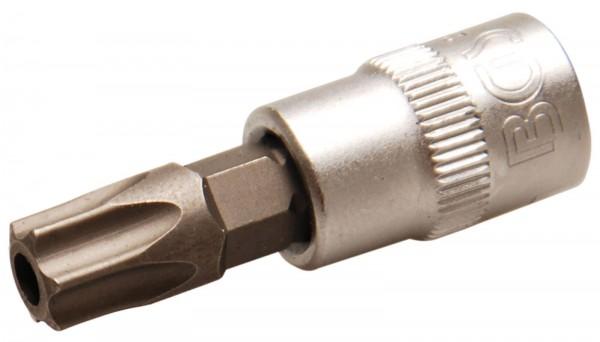 BGS 2165-T45 Bit-Einsatz, 6,3 (1/4), T-Profil mit Bohrung, T45