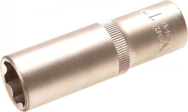 """BGS 2947 Steckschlüssel-Einsatz 1/2"""", Super Lock, tief, 17 mm"""