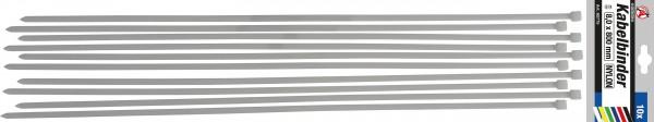 BGS 80775 Kabelbinder-Satz 8,0x800 mm, 10-tlg.