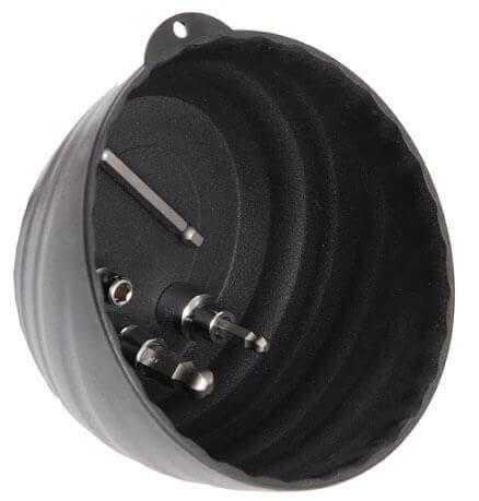 BGS 67100 Magnet-Haftschale, extra hoher Rand, Ø 145 mm