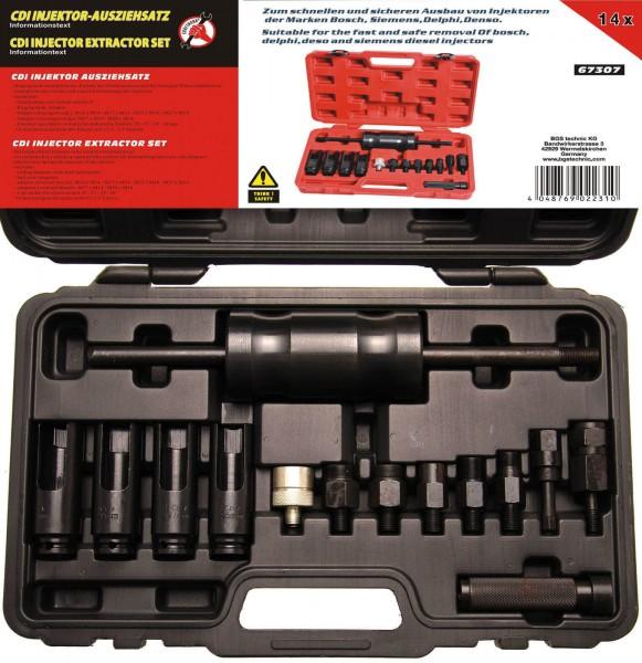 BGS 67307 Injektor-Ausbausatz, 14-tlg.