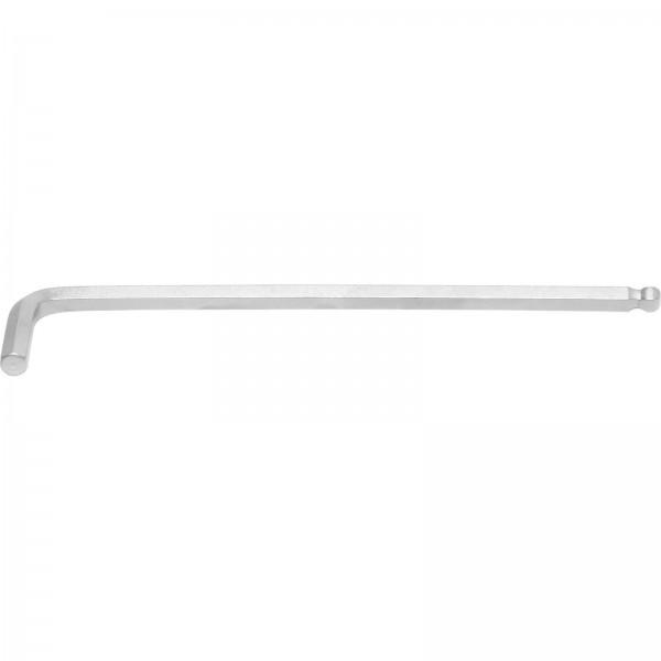 BGS 790-8 Winkelschlüssel, Innen-6-Kant, extra lang 210 mm, 8,0 mm