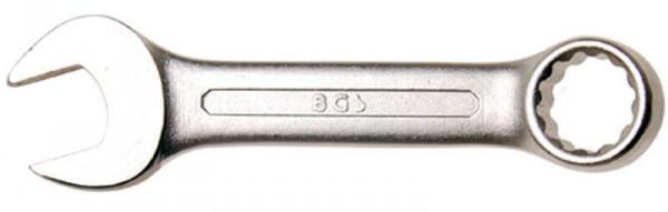 BGS 30761 Maul-Ring-Schlüssel, extra kurz, 10 mm