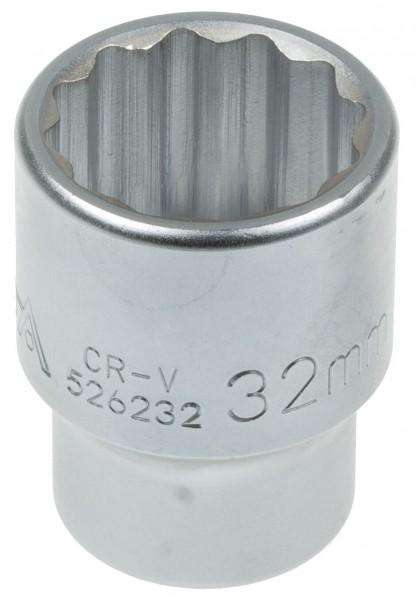 Asta 526232 Vielzahn Steckschlüssel SW 32 mm