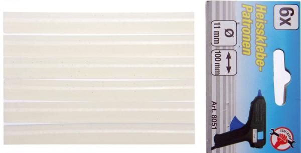 BGS 8051 Klebestifte, 6 Stück, 11x100 mm