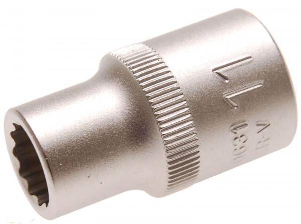 BGS 10631 Steckschlüssel-Einsatz 12-kant, 12,5 (1/2), 11 mm