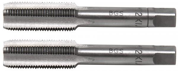 BGS 1900-M12X1.0-B Gewindebohrer M12x1.0, Vor- & Fertigschneider, 2-tlg.