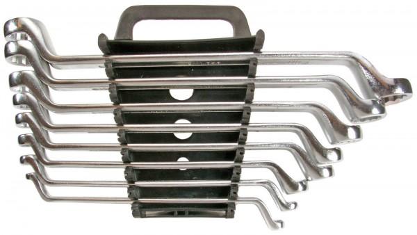 Doppelringschlüssel Satz 8-tlg Doppel Ringschlüssel gekröpft Set 6-22mm DIN838