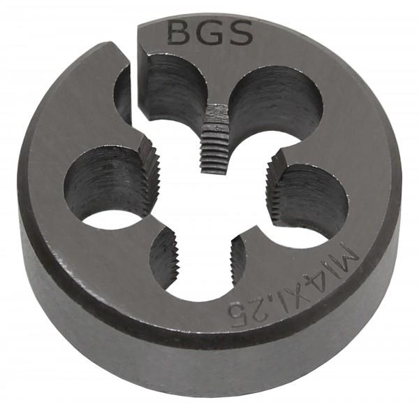 BGS 1900-M14X1.5-S Gewindeschneideisen M14x1.5x38 mm