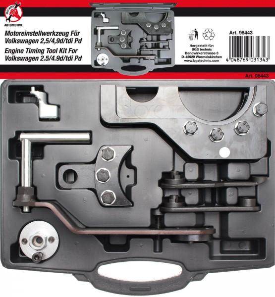 BGS 98443 Motor-Einstellsatz für VAG 2,5 / 4,9D / TDI Pump-Düse