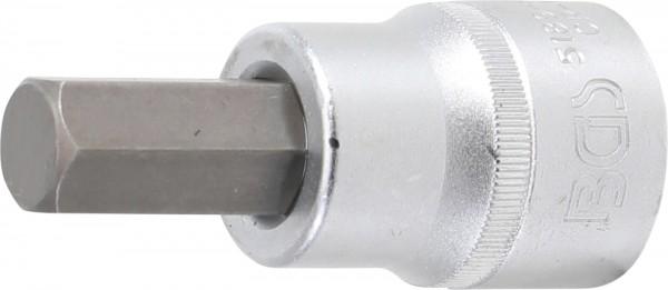 BGS 5189-H17 Bit-Einsatz, Innensechskant, 20 (3/4), 85 mm lang, 17 mm
