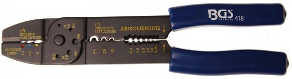 BGS 418 Kabelschuh-Klemmzange, 235 mm
