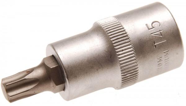 """BGS 4373 Spezial-T-Profil-Einsatz, 1/2"""", o. B., 55 mm lang, T45"""