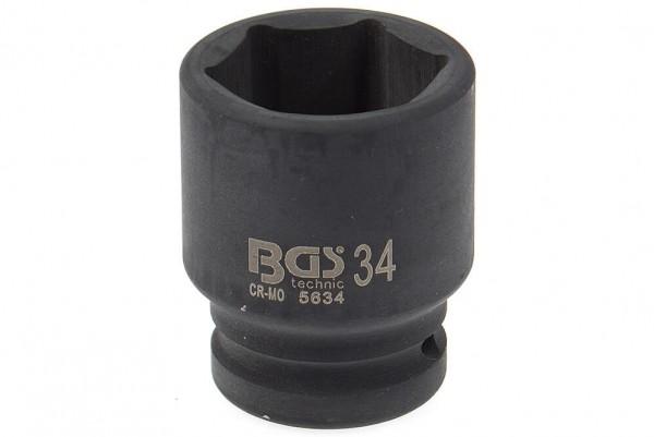 """BGS 5634 Schlagschrauber Nuss 3/4"""" SW 34 mm"""
