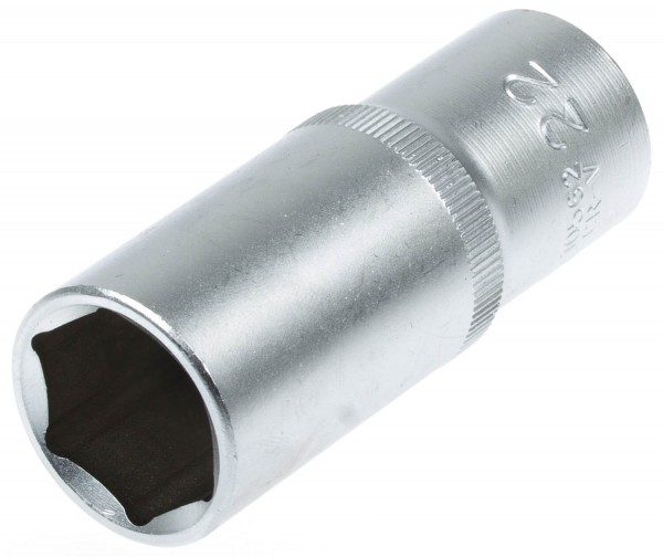 "BGS 10562 Steckschlüssel Einsatz lang Nuss SW 22 mm 1/2"""
