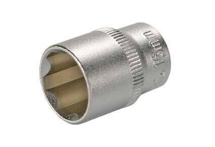 """BGS 2376 Steckschlüssel-Einsatz SW 16 mm 3/8"""" Super Lock"""