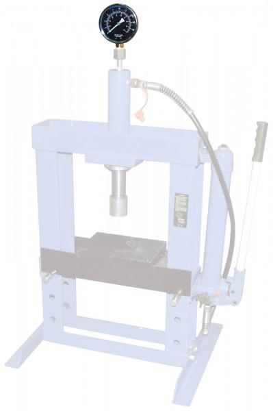 BGS 9247-3 Manometer für Werkstattpresse Art. 9247