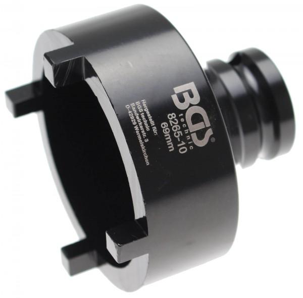BGS 8265-10 Nutmutter-Einsatz mit Aussenzahn, 69x6.5 mm
