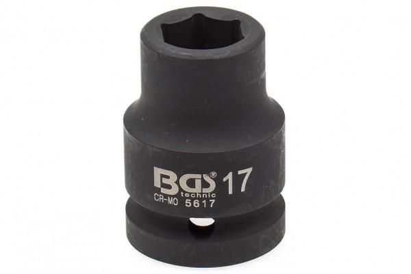 """BGS 5617 Schlagschrauber Nuss 3/4"""" SW 17 mm"""