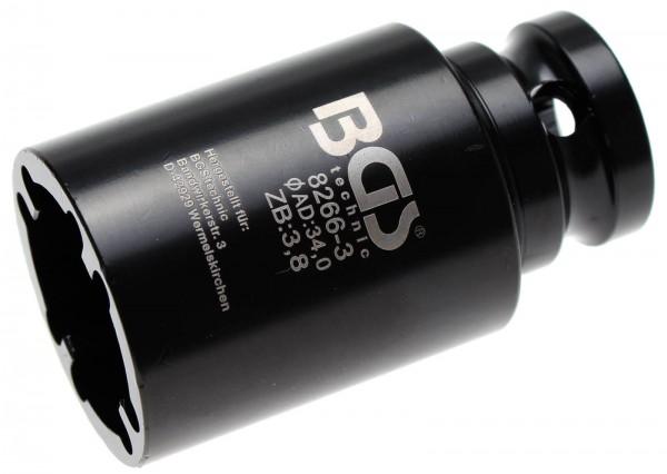 BGS 8266-3 Nutmutter-Einsatz mit Innenzahn, 34x3.0 mm