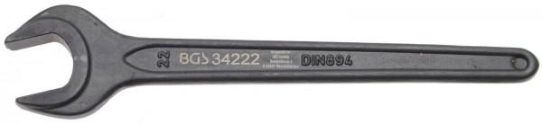 BGS 34222 Einmaulschlüssel, 22 mm